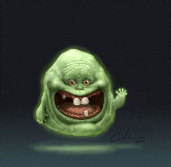 Step aside Baby here comes Baby Slimer 🤪