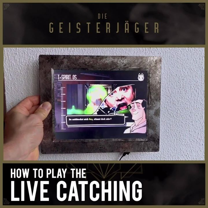 """How to play the """"live catching""""… Explainer Video at our waiting line"""