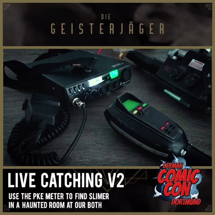 """Live catching v2 at our booth at the """"German Comic Con Dortmund"""" this december.…"""
