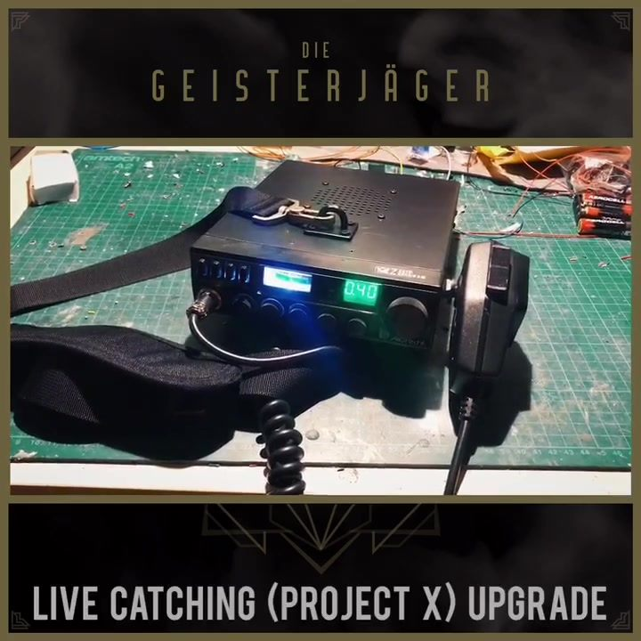 Live Catching (Project X) Upgrade #1 finished. Use that portable radio to talk to…