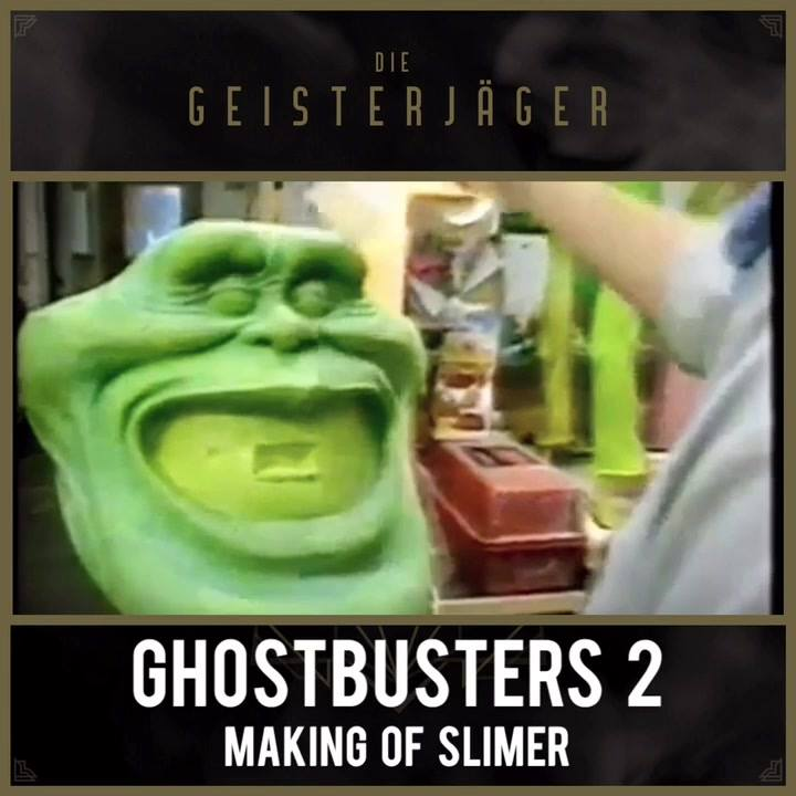 Ghostbusters 2 – Making of Slimer (credits: Entertainment Tonight 1989) Robin Shelby