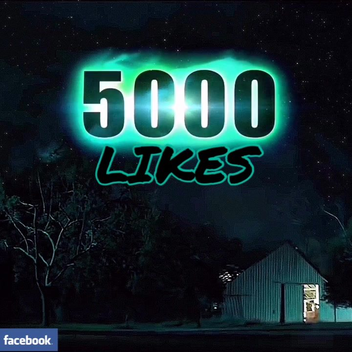 WOW 5000 Likes on FB. Thank you all. It will be a wild ride…