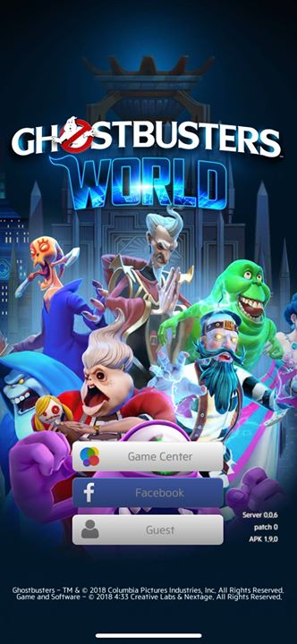 And here we go . Ghostbusters World is online now
