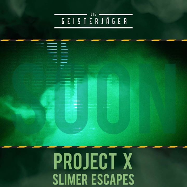 Project X is coming soon #teaser #slimer #shutdown