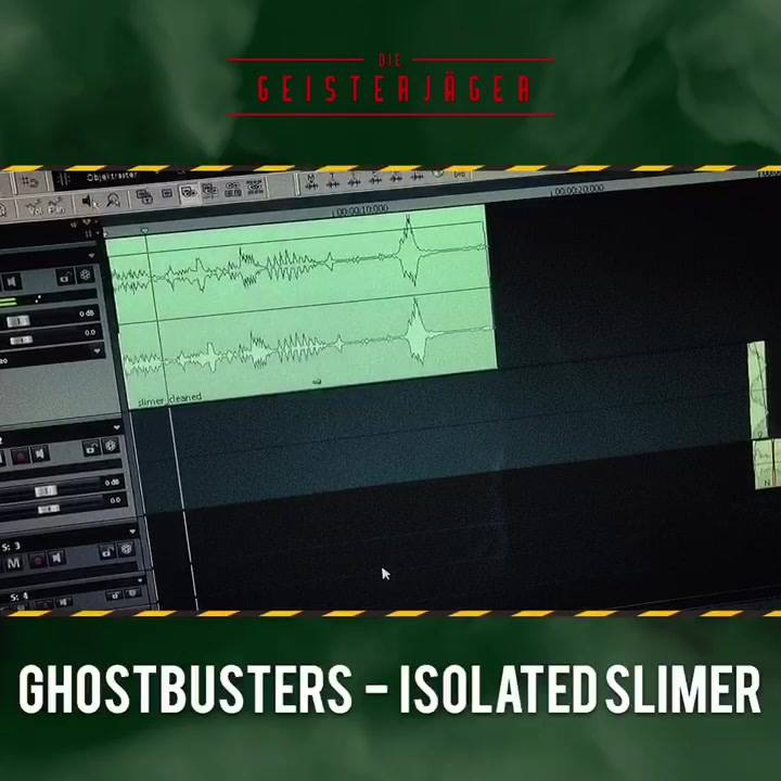 New more screen accurate isolated, cleaned and edited Ghostbusters and Ghostbusters 2 Sounds directly…