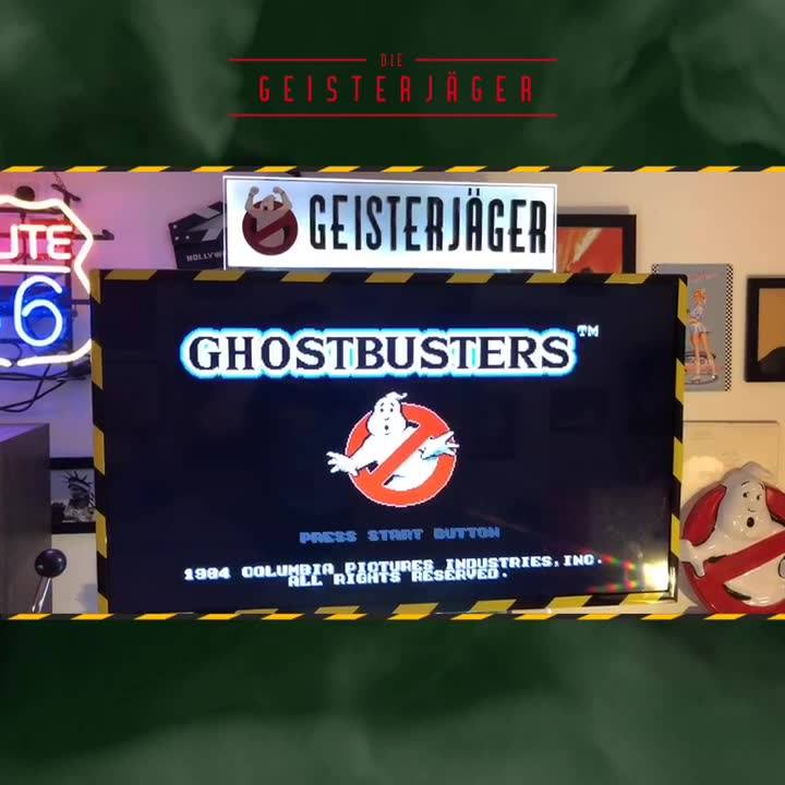 """We have finished our """"retro/newgen game-kiosk"""" for our stand Ghost Corps"""