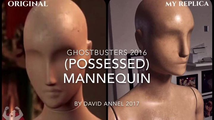 Ghostbusters 2016 – Possessed Mannequin Replica (FINISHED)