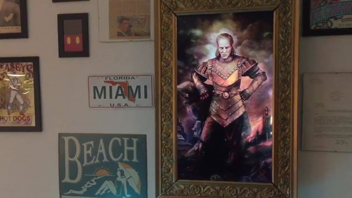 """first upcoming presentation of our """"animated vigo picture"""" at the """"scifi con"""" on nov"""