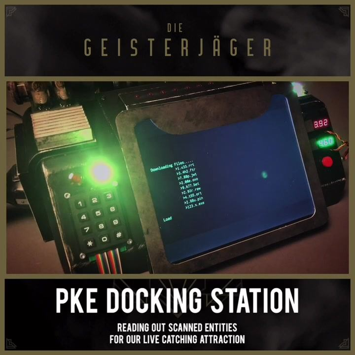 """We have finished our PKE Docking Station for our """"live catching"""". ️ This is…"""