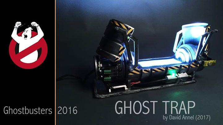 """Ghostbusters 2016 – Ghost Trap (FINISHED) the """"first"""" fully functional replica with moving doors,…"""