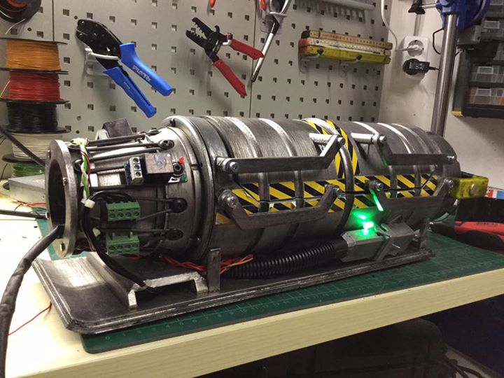 Next steps on my ghostbusters 2016 ghost Adding more Parts, more Wires and the…
