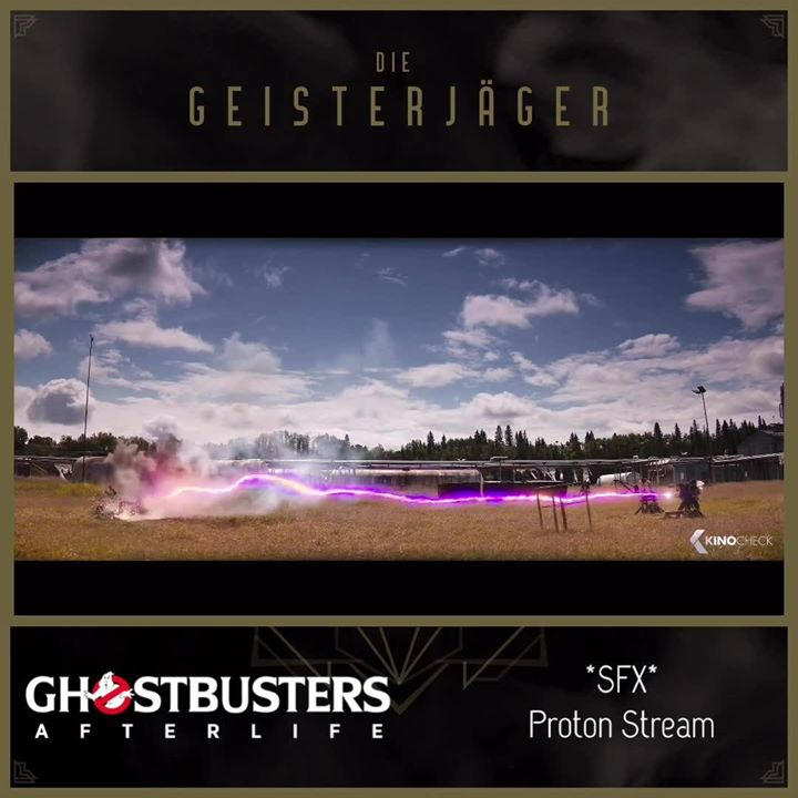 We made something for the Ghostbusters Community. Here a 3 isolated soundeffects from the…