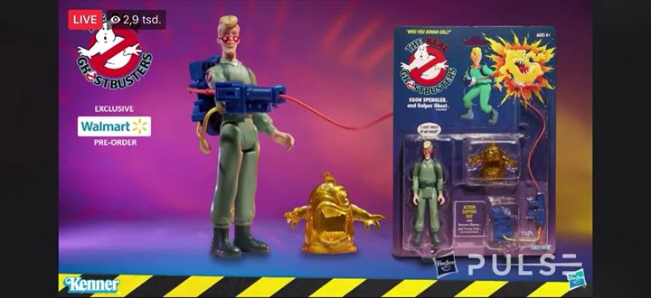 anyone missed the livestream from hasbro ️ here is a cut of the #ghostbusters…